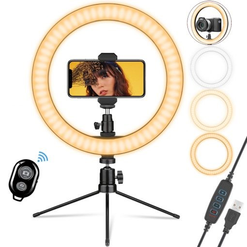 ohotter desktop selfie ring light